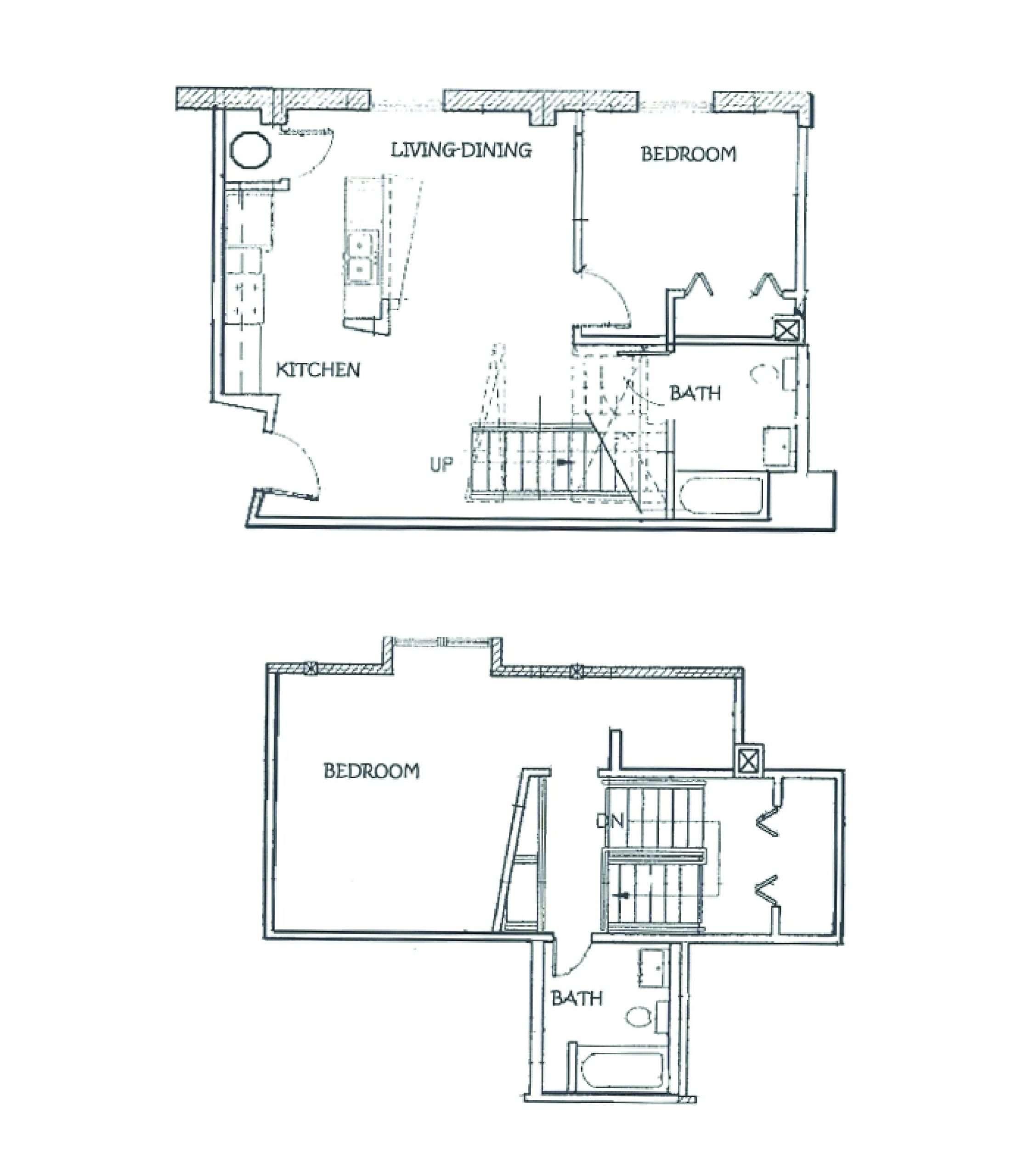 The Crossings floor plan