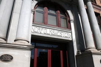 The Crossings front doors