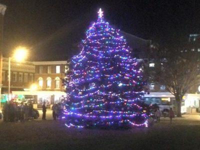 The Crossings Christmas tree